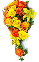 B.Noiva Cascata - Lírios E Rosas