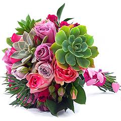 Bouquet De Noiva Suculentas