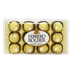 Caixa Ferrero Rocher com 12 unidades