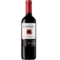 Vinho tinto chileno Gato Negro Cabernet Sauvignon 750 ml