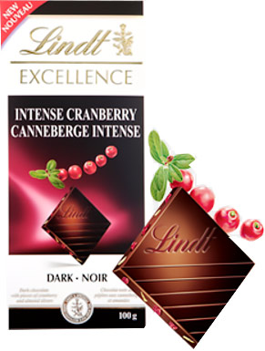 Lindt Cranberry Intense
