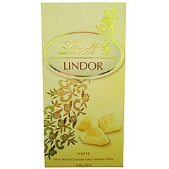Tablete Lindt Chocolate Branco