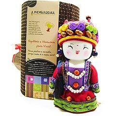 Boneca Mensageira - Ashima - Fortuna