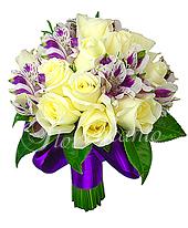 B.Noiva - Rosas E Alstroemérias