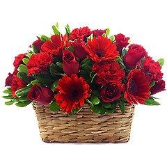 Arranjo de Flores Vermelho